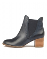 BELLE NAVY LEATHER