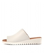 MELODIE WHITE LEATHER