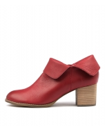 SANTA RED LEATHER