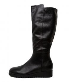 NORMIES BLACK BLACK SOLE LEATHER