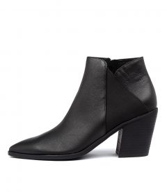 MARQUES BLACK LEATHER