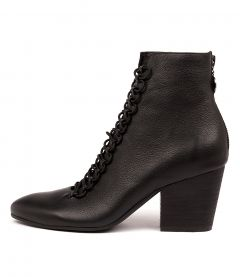 IMPLY BLACK LEATHER