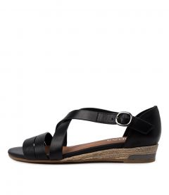 CANDESI BLACK LEATHER