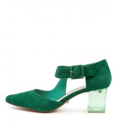 HAPPER EMERALD SUEDE