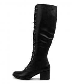 Matteo Black-black Heel