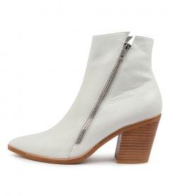 Mana Winter White Leather