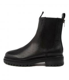 Apparent Black Leather