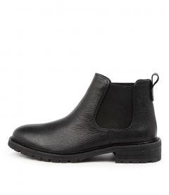 Rapple Black Leather