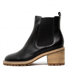 Biski Black Leather