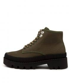 Pennie Olive-black Sole