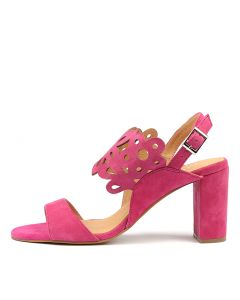 TENDERS HOT PINK SUEDE