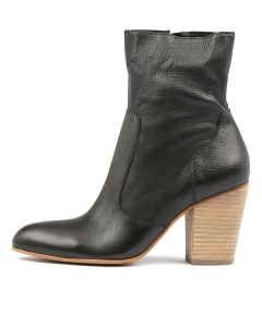 HATRICK BLACK NATURAL HEEL LEATHER