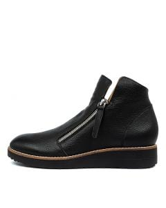 OLISE BLACK BLACK SOLE LEATHER