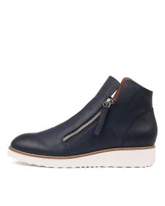 OLISE NAVY LEATHER