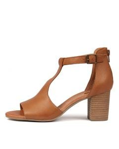 SURELY DK TAN LEATHER