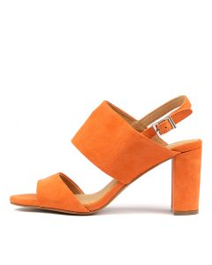 TOPAZ ORANGE SUEDE