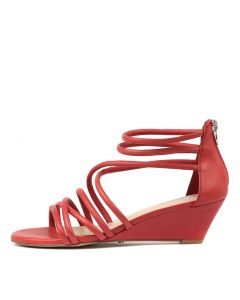 MACEO RED LEATHER