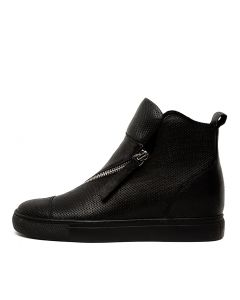 GIMMO BLACK BLACK SOLE LEATHER