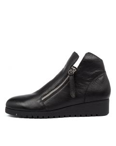 NIXXON BLACK BLACK SOLE LEATHER