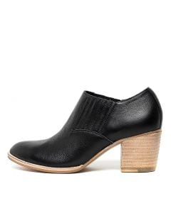 BERN BLACK NATURAL HEEL LEATHER