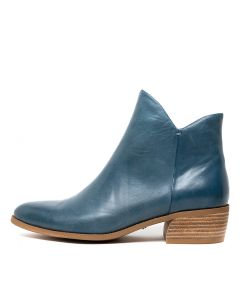 CAMITA BLUE LEATHER