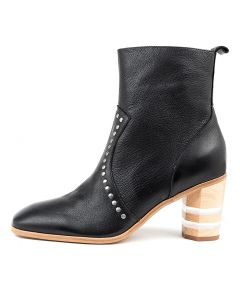 MARMITE BLACK NATURAL HEEL LEATHER