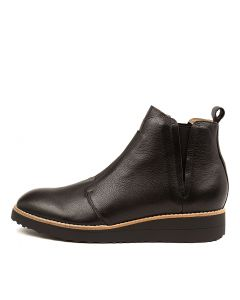 OPHER BLACK BLACK SOLE LEATHER