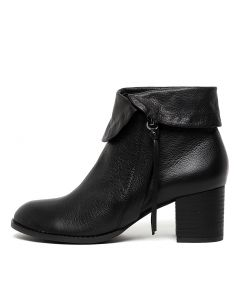 SHADY BLACK BLACK HEEL LEATHER