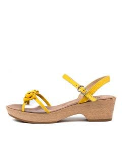 MARIL YELLOW SUEDE