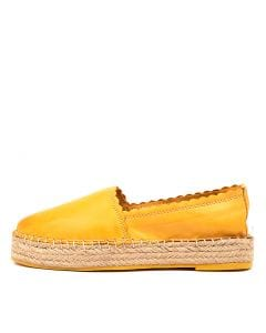 TROIAN YELLOW LEATHER