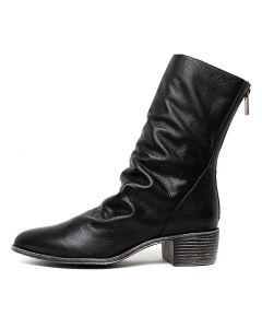JODETTE BLACK LEATHER