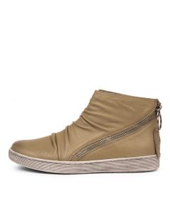 DARLYN KHAKI LEATHER