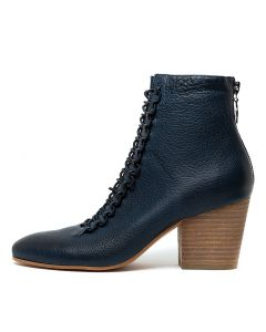 IMPLY NAVY LEATHER