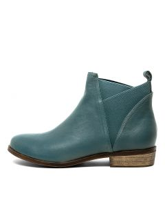 SMOCK TEAL LEATHER