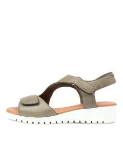 FLORINI KHAKI-WHITE SOLE