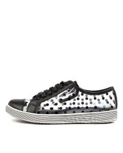 DOTTY BLACK DOT LEATHER