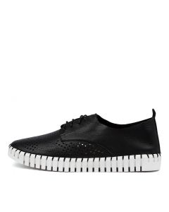 HUSSTAR BLACK-WHITE SOLE