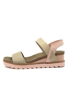 BETTY KHAKI-NUDE MULTI