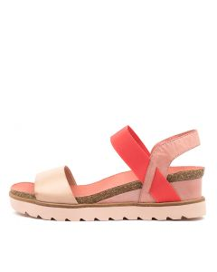BETTY NUDE-CORAL MULTI