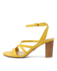 GEORGETTE YELLOW LEATHER