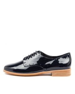 FRET NAVY PATENT LEATHER